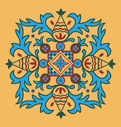 Byzantine pattern vector image