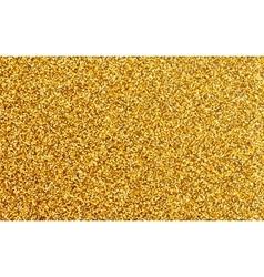 Golden Glitter Wallpaper vector image