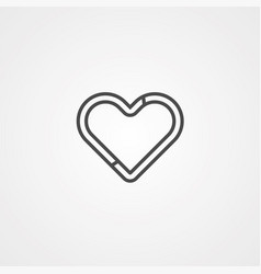 heart icon sign symbol vector image