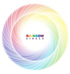 Rainbow circle vector