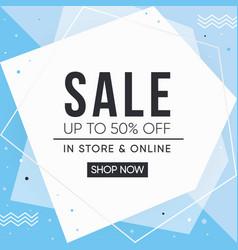 Sale banner design sale vector