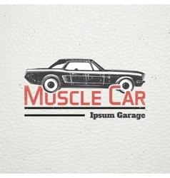 Auto service set rent a car garage auto vector