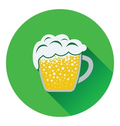 Mug of beer icon vector image vector image