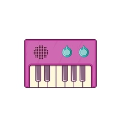 Synth icon cartoon style vector image