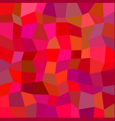 Abstract polygon mosaic pattern background vector