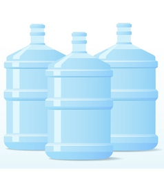 Distill water bottle vector