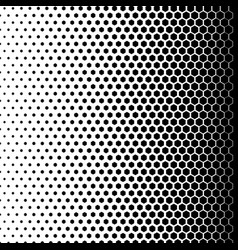 Monochrome dots background abstract fade backdrop vector