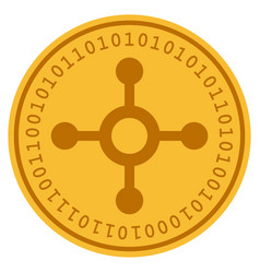 roulette digital coin vector image