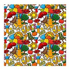 juice pattern vector image