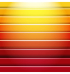 Orange And Red Background With Line vector image