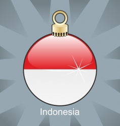 Indonesia bulb vector image vector image