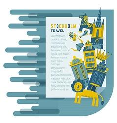 Stockholm design template vector