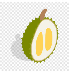 durian isometric icon vector image