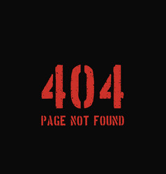 404 error page background vector image