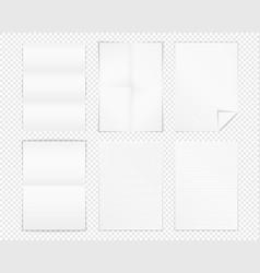 A4 paper vector