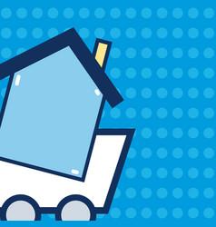 buy real estate vector image