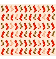 Christmas stockings background vector