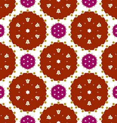 Colored lace pattern vector image