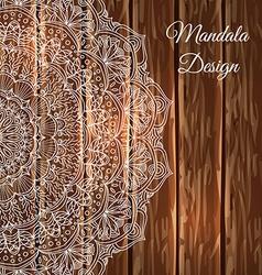 Lace Mandala vector