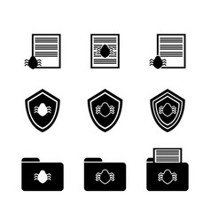 Protection of documents on the computer antivirus vector