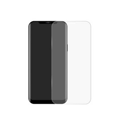 Realistic smartphone screen protector vector