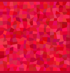 Red abstract rectangle tile mosaic background vector
