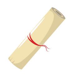 scrolls design icon vector image