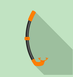 snorkel icon flat style vector image