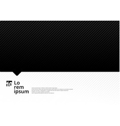 template black and white with diagonal lines vector image