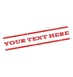 Your Text Here Watermark Stamp vector