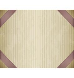 Framed cardboard vector image