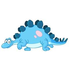 Stegosaurus dinosaur vector