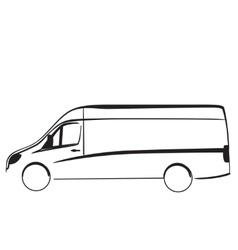 Car repair or delivery service label Logo design vector image