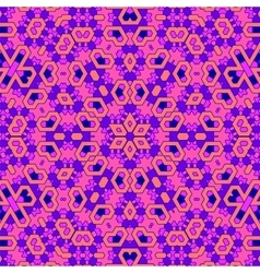 Creative Ornamental Pink Pattern vector