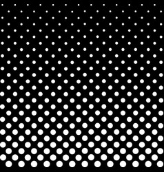 Halftone fade gradient background black and white vector