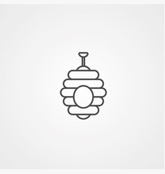 hive icon sign symbol vector image