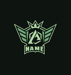 logo sports image vector image