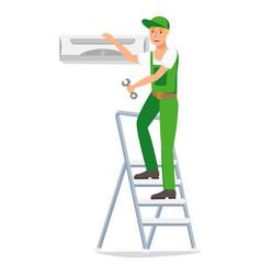 repairman design character vector image