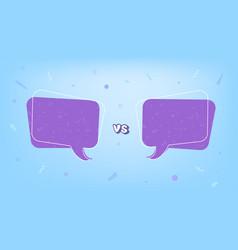 Versus template vs screen vector