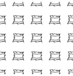 background for pillow vector image