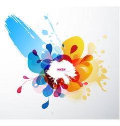 abstract splash wallpaper vector image