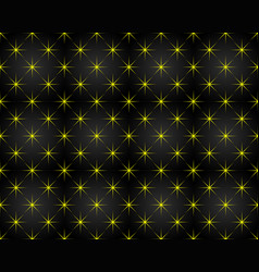 Anniversary pattern background shaped stars vector