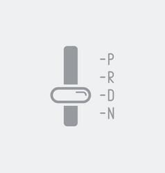Automatic transmission symbol icon vector