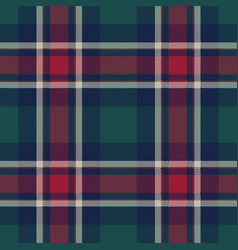 Check tartan pixel plaid seamless pattern vector