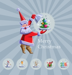 Christmas 2016 vector
