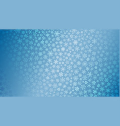 christmas background of small snowflakes vector image