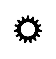 Gear options preferences settings tools icon vector