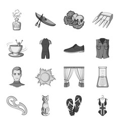 Sewing sport travel and other web icon in vector