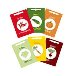 Vegetable Seeds Icon vector image