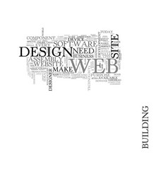 Web design and the assembly plant text word cloud vector